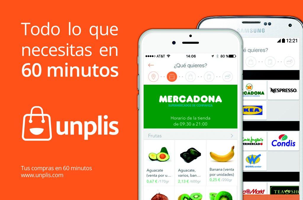 Unplis app, compra lo que quieras