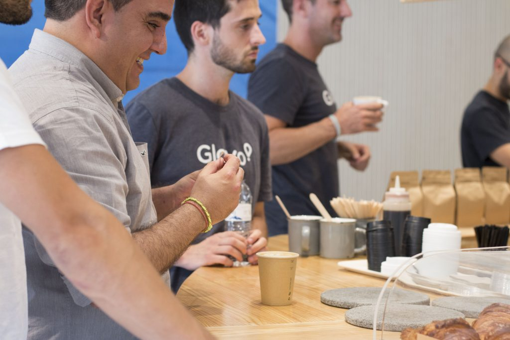 Our cafeteria inside the coworking. Enjoy the best coffee in Barcelona.