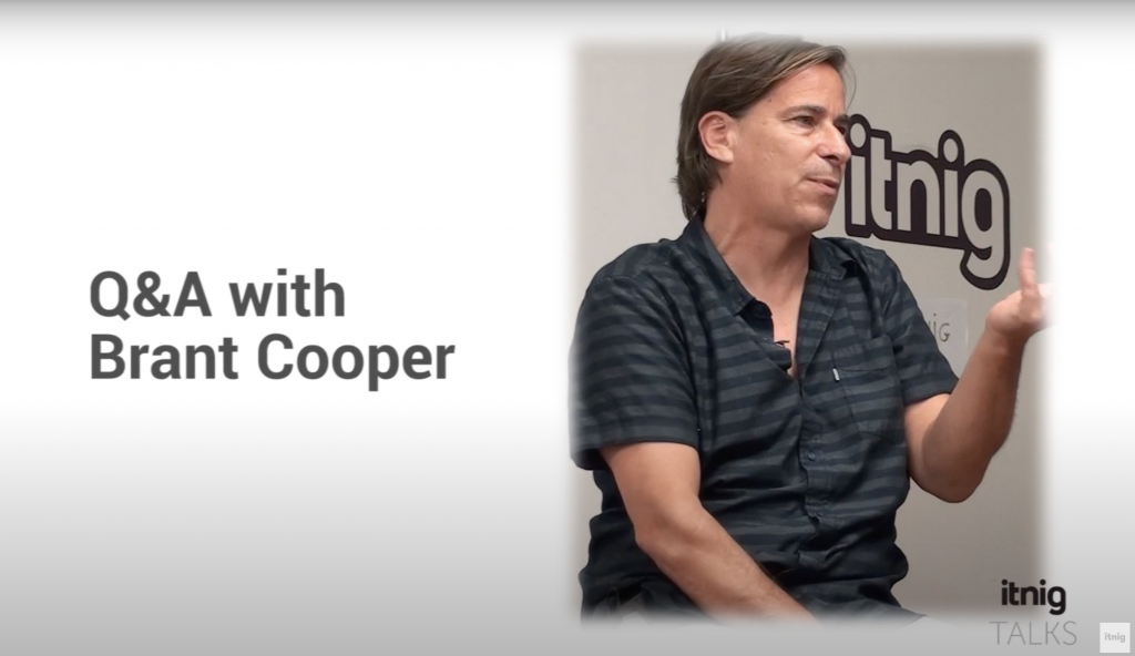 Brant Cooper about startups