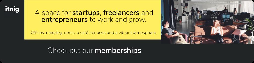 Itnig coworking membership
