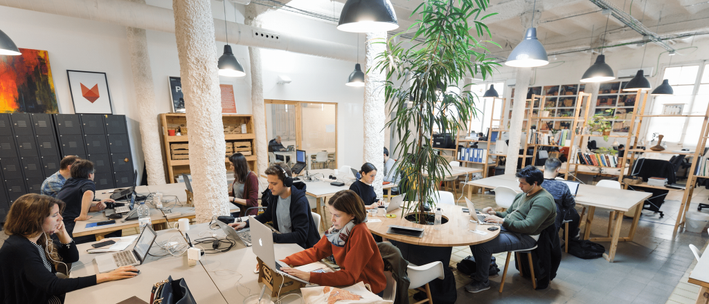 MOB coworking space Barcelona